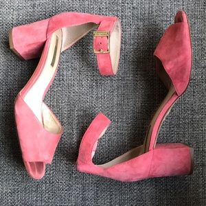 Louise eat Cie Pink Block Heels